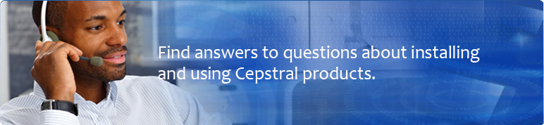 Find answers to questions about installing and using Cepstral products.
