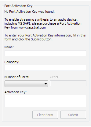 How to enter your Port Activation Key in Windows